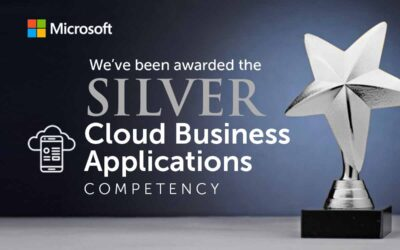 We've been awarded a new Microsoft Competency in Cloud Business Applications!