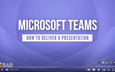 #TeachingTeams: How to deliver presentations online and enable remote learning with #MicrosoftTeams