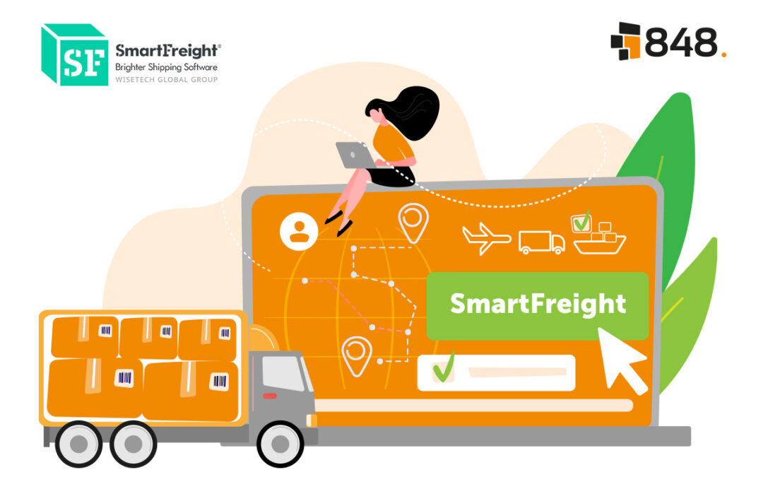 SmartFreight and 848 announce partnership to provide smarter shipping solutions