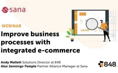 Improve your business processes with integrated e-commerce